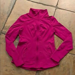 Zella purple track jacket sz S